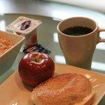 Espace petit déjeuner
