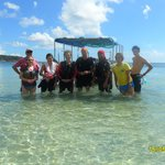 The underwater fun gang...