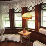 Curved Radiators in the Dining Room