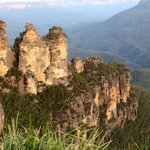 The Three Sisters late afternoon