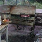 Magic grill at 3 Dives