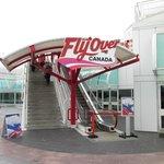 FlyOver Canada Entrance