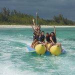 The banana boat tour!