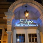 The restaurant attached to the hotel, The Eclipse Restaurant