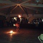 Fire dancer from Sunday June 22nd Bonfire