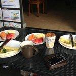 sarapan pagi yang sederhana