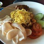 nasi goreng - generous portion