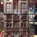Notre Dame em Chocolate