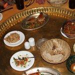 Diferentes platos que compartimos