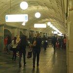 Moscow Metro Station
