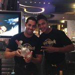 Neftali and David our favorite Hard Rock bartenders
