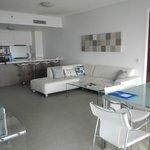 kitchen/ lounge/ dining