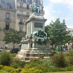 Monument to Alexender Dumas