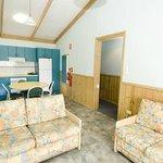 Sheerwater Cabin Interior