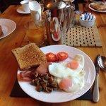 Sarah's wonderful breakfast