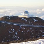 Observatory on Mauna Kea Summit