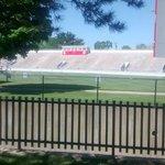 Van Wert Cougar Stadium, behind the Fountain Inn