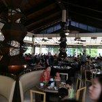 Busy breakfast Garden Cafe