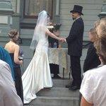 Congrats Wayne & Johnna