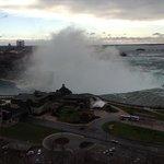 Niagara Falls -Canadian falls view from room