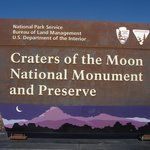 Craters of the Moon sign