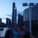 chicago skyline from the boat tour