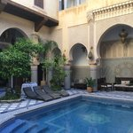 Palatial residence in Fez... yeah, we stayed here!