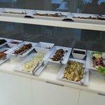 buffet salé