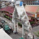 vue sur le temple