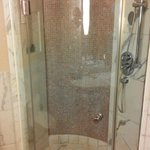Shower room - with strong water pressure
