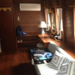 Another living area in our boat suite