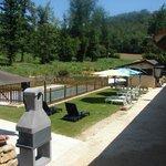 Côté piscine et  jardin