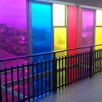quiry and colourful fun hotel