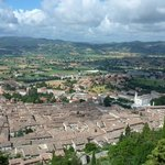 View from the Funivia over Gubbio