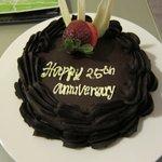 Anniversary cake :)