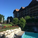 Grand Hotel Park, Gstaad - Pool Side