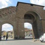 The Roman Arches near the hotel