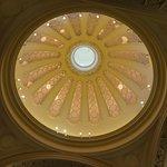 博物館中美麗的天花板
