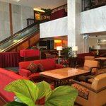 Lobby lounge and soccer matches