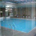 Indoor pool and the spa