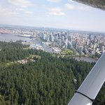Over Stanley Park Vancouver