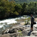 Sabi River in fron tof property