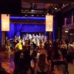 Scene of the Edison Ballroom in full swing action!