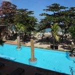 Pool near Beach (View from Breakfast Area)