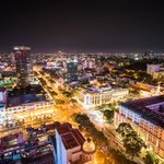 Caravelle Hotel- Saigon by night
