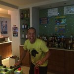 Probably the best bar man in Kavos along with his brother!