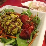 Salade d'épinards et mascarpone exquise