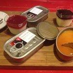 Desserts dans boîtes à sardine!