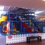 Main playground with 3 slides