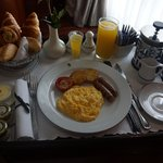 Room Service:  Breakfast!